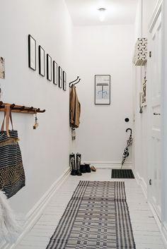 corredor casa escandinavo