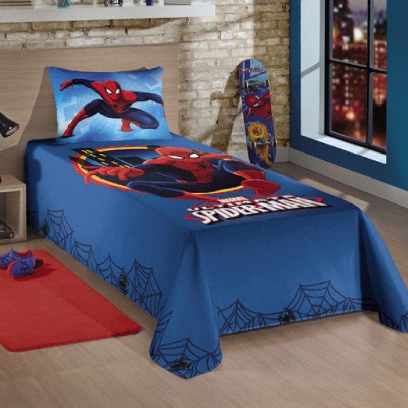 Jogo de Cama Infantil Spider Man Ultimate - Lepper - AixCasa