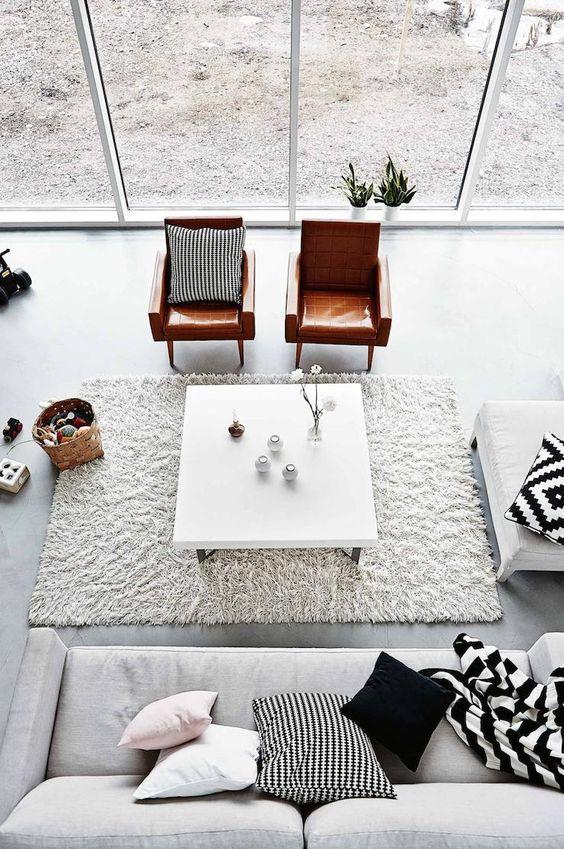 Estilo escandinavo na decora o saiba como fazer for Sala de estar simple