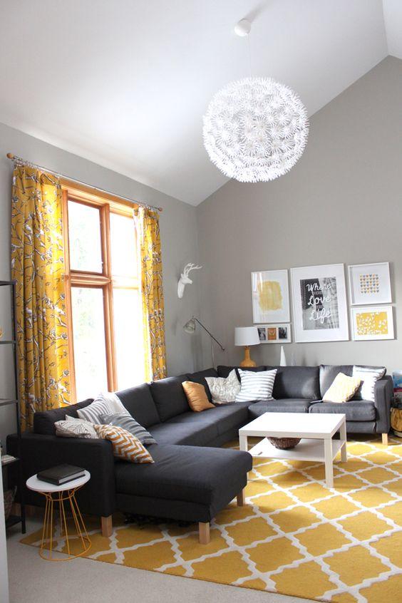 Tapete Rustico Para Sala De Estar ~ Tapetes para sala  26 ideias para você decorar a sua