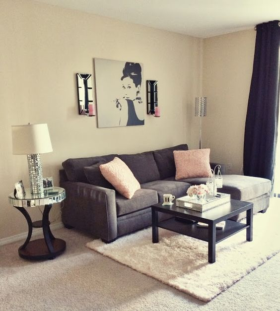 Cores para sala de estar aprenda a deixar sua casa linda - How can i decorate my small living room ...