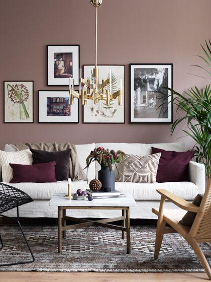 Cores para sala de estar aprenda a deixar sua casa linda for Sala de estar marron