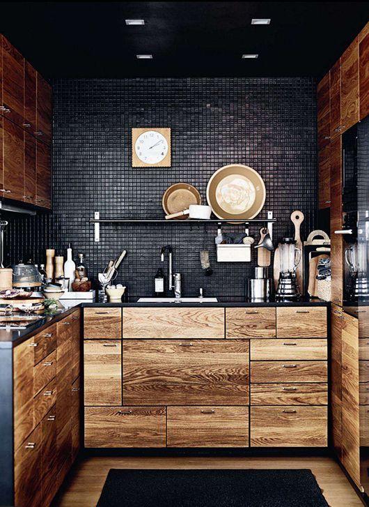 Cozinhas modernas madeira demolica