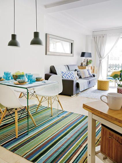 Sala de jantar pequena deixe a sua bonita e moderna for Mesas pequenas de salon
