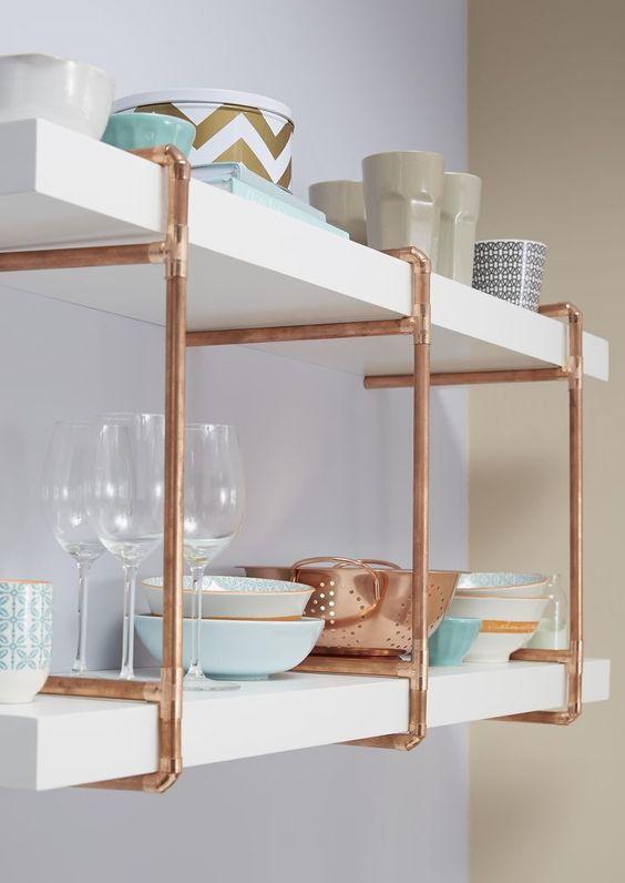 Decora o cobre ou rose gold aposte nessa cor que for Kitchen ideas rose gold