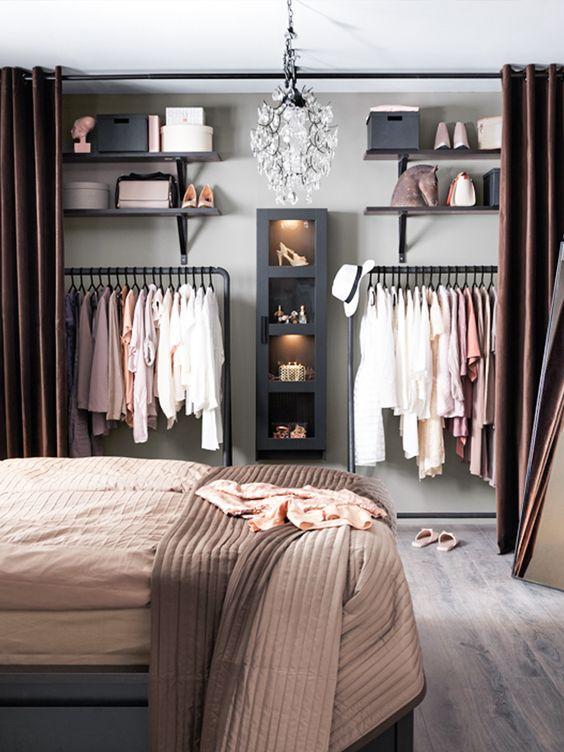 Modelos de closet para voc ter na sua casa viver em casa for Modelos de walk in closet