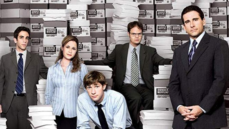 Personagens do The office reunidos